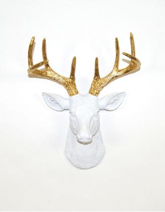 Mini Alfred stag deer head