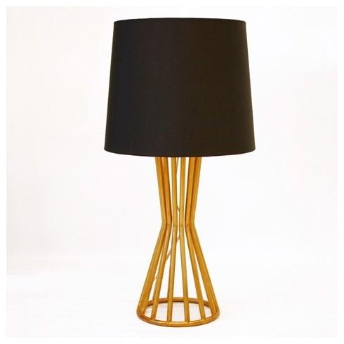 Wyler gold leaf lamp