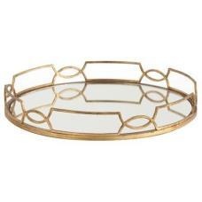 Anteriors gold tray