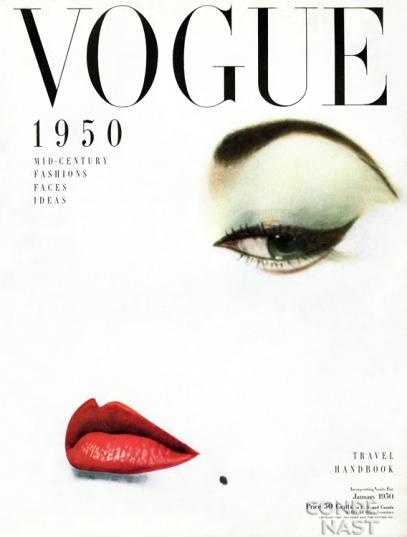 vintage vogue print