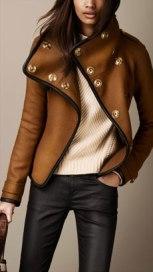 Burberry blanket jacket