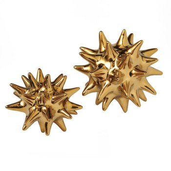 Dwell Studio gold sea urchin