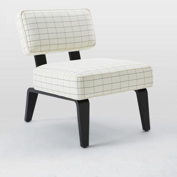 Kate Spade Saturday x West Elm Bentwood Slipper Chair