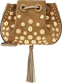 Studded suede bag by Chloe